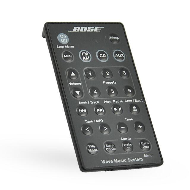 Genuine Bose-Wave Music System Remote Control for AWRCC6 AWRCC5 Radio/CD Black