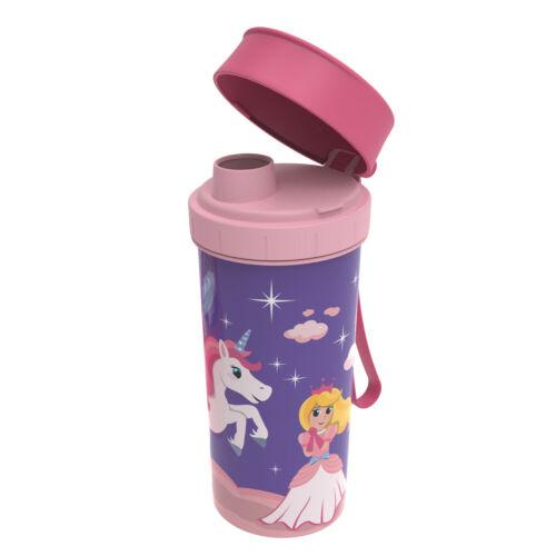 Rotho Trinkflasche für Kinder Kindergarten Becher Saft-Flasche Getränkeflasche