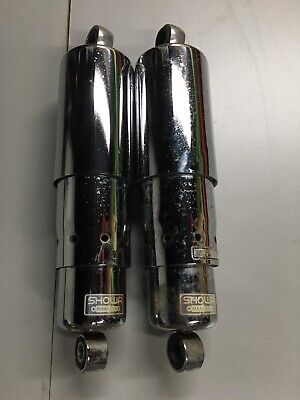"HONDA 87 to 2007 VT1100 SHADOW ACE SPIRIT SABRE 12.25/"" BLACK SHOCKS"