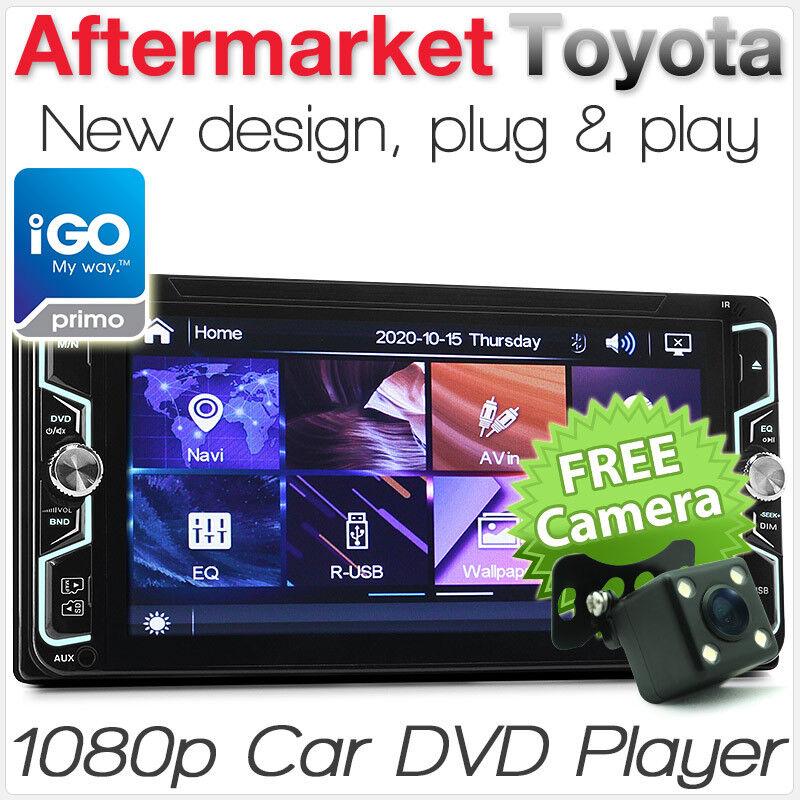 "7"" Car DVD Player GPS For Toyota Landcruiser Prado Hilux Stereo Head Unit CD"