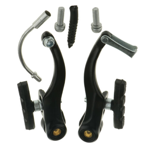2Pc Bike V-brake Front Caliper Tool Forged Aluminum Alloy Brake Cycling Part