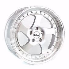 ESR SR02 19x9.5 19x10.5 +22 5x114.3 Machined 350z Genesis G35 G37 370z Supra
