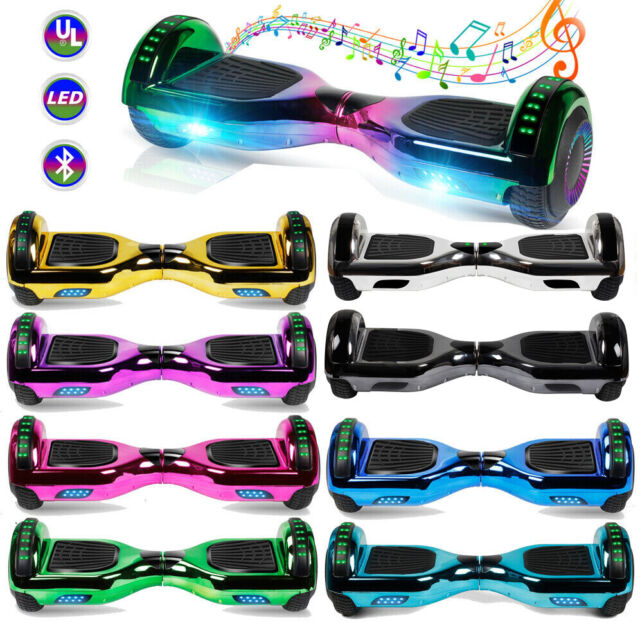 """8/"""" UL 2272 Certified Safe Self Balancing Hoverboard with Bluetooth LED Bag"""