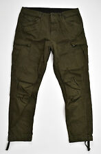 G-Star Raw cargo jeans sustancia pantalones-rovic tapered-w32 l36 nuevo!!!