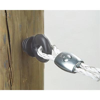 10 Pk Dare Snug Chain Link U-Post Electric Fence Insulator 25//Pk SNUG-SU-25