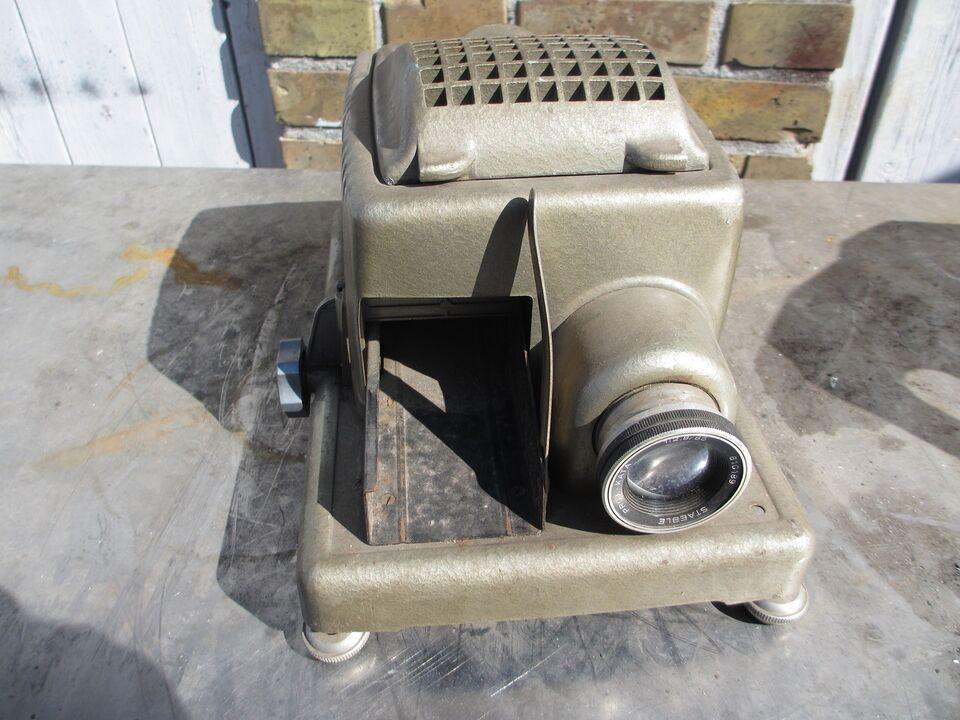 Foto, Gammel lysbilled apparat
