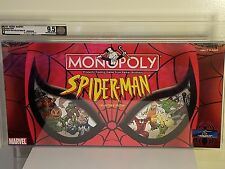 SPIDER-MAN MONOPOLY AFA U 9.5 COLLECTOR'S EDITION 2002 SEALED BOARD GAME