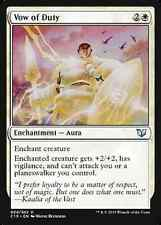 Vow of Duty X4 NM Commander 2015 MTG  Magic Cards White Uncommon