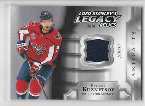 2018-19-Artifacts-Lord-Stanley-039-s-Legacy-Relics-Eugeny-Kuznetsov-Jersey