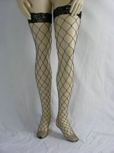 Lycra-Fence-Net-Stockings-Plus-Size