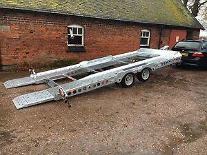 17 Ifor Williams Ct177 Tilt Bed Car Transporter Trailer Hire