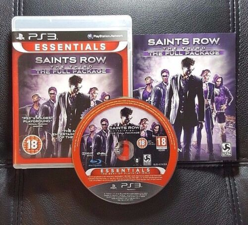 1 of 1 - Saints Row The Third The Full Package (Sony PlayStation 3, 2013) PS3 Game