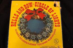 1979 BELLS & BOWS, CIRCLE OF LIGHTS - CHRISTMAS LIGHT DECOR   eBay