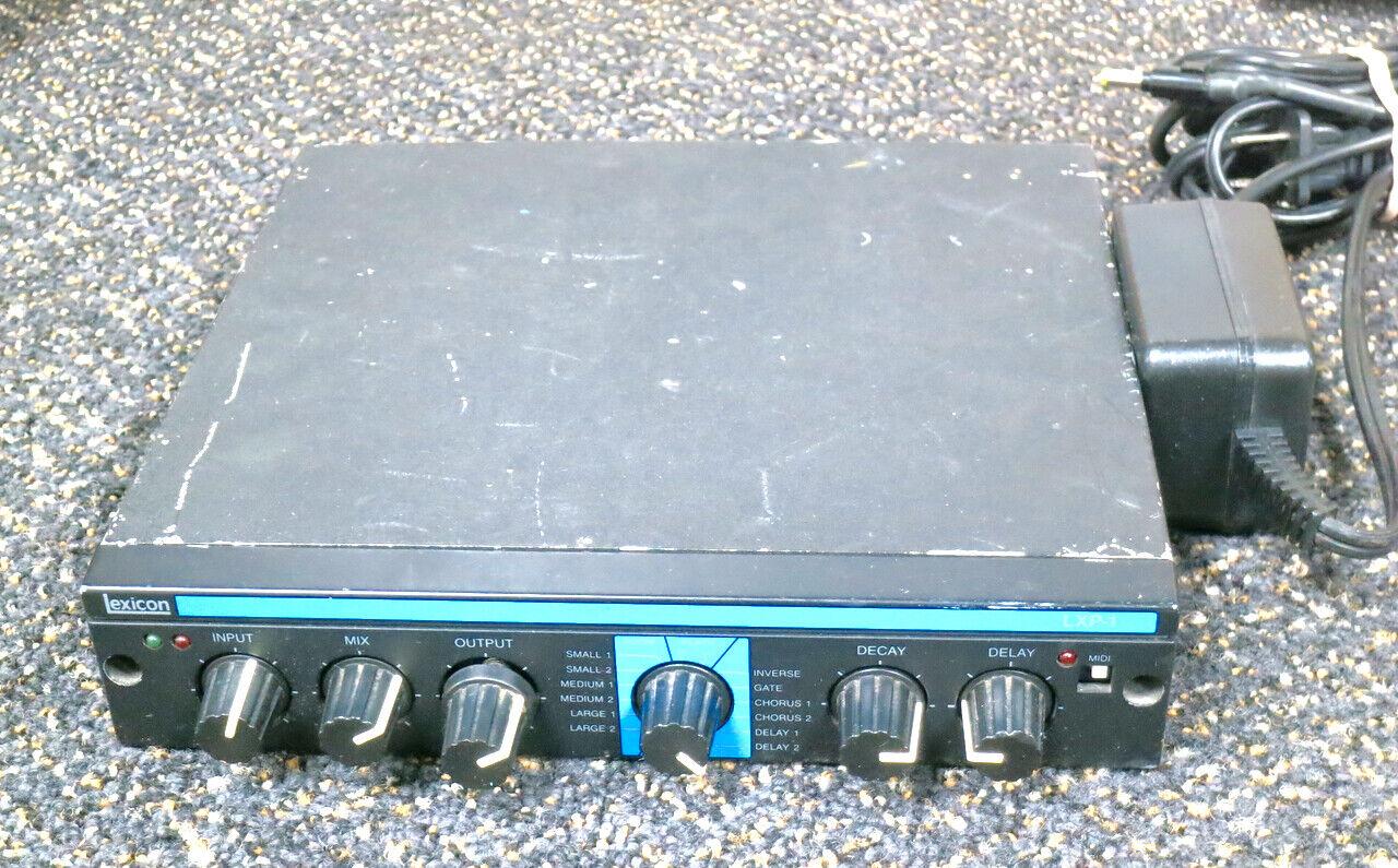 Vintage LEXICON LXP-1 reverb   delay  chorus multi-effects lpx1 half-rack unit