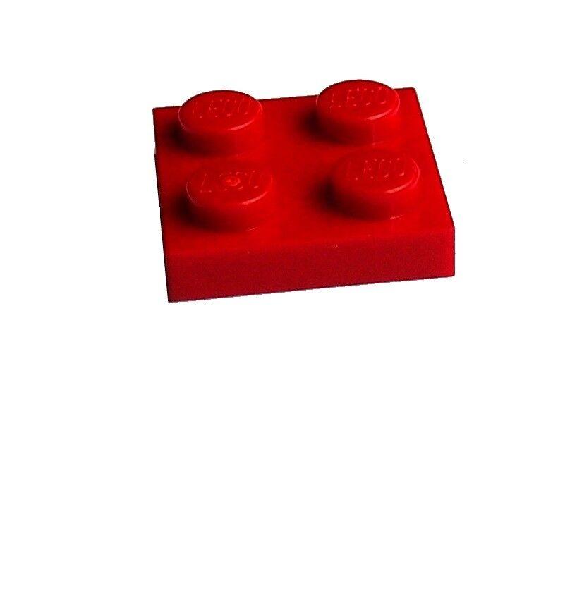 2x8 Platten 3034 Basics Neu reddish brown Lego 10 Stück Platten in braun