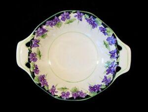 Beautiful-Royal-Doulton-Violets-Nut-Dish