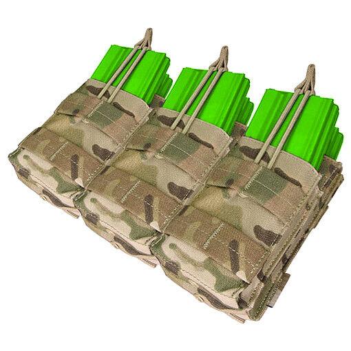 Condor Taktische Taktische Taktische Bekämpfung Dreifach M4 M16 Stacker Munition Molle Mag Pouch Mul c724b5
