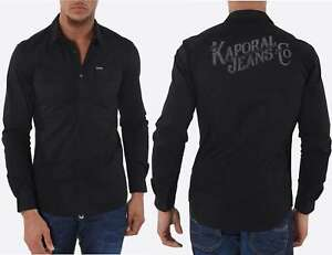 Chemise Kaporal manches longues homme LOGGY