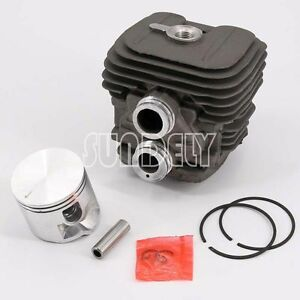 Home & Garden Chainsaw Parts & Accs 50mm Fit For Stihl TS410 TS420 Cylinder Head Piston Parts With Rings Pin Clips
