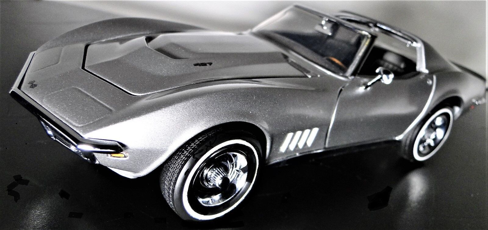 1971 Vette Chevy Built V 8 1 Corvette Sport 24 Race Car 18 Vintage 25 Model 12