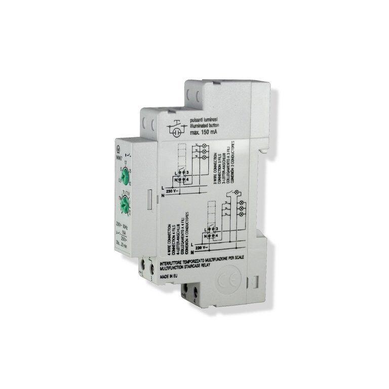 Multifunktioneller Treppenlicht Zeitschalter 0,3-20min - geeignet für LED   | Reichlich Und Pünktliche Lieferung  | Geeignet für Farbe  | Modisch
