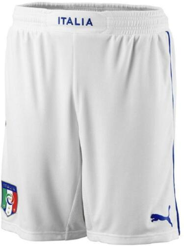 del Puma 2014 Mens Figc Home Football White Italy Shorts Coppa Mondo 774qvxwp