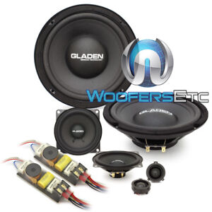 GLADEN ONE 200 GOLF5 8 4 120W RMS 3WAY COMPONENT SPEAKERS SILK