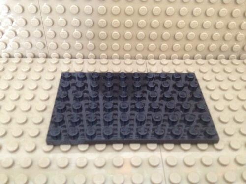 Lego® 1 x  Platte 6x10 schwarz 3033