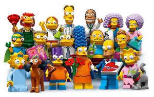 Lego Minifig Personaggio Omino 71009 Serie Simpson 2 a Scelta Nuovo New