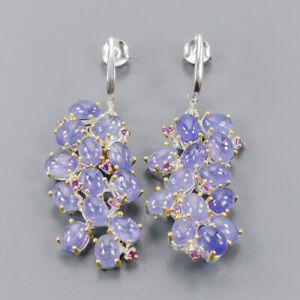 Tanzanite-Earrings-Silver-925-Sterling-Fashion-Earrings-Women-E41048