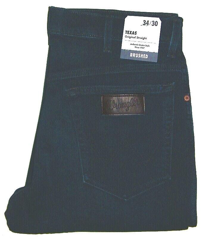 WRANGLER ® Texas Stretch Jeans Night Shift blue W121GH19B 1.Wahl Größe wählbar