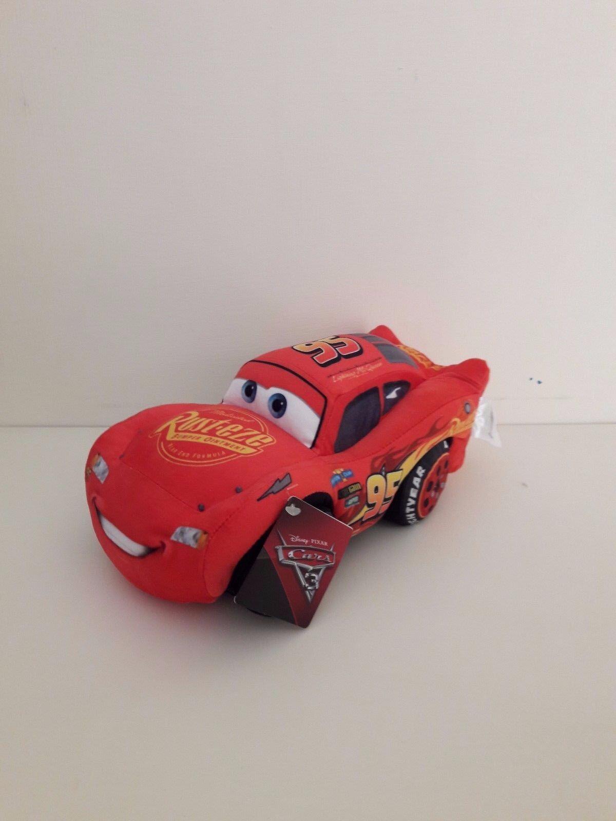 Grandi Giochi Gg01257 Peluche Cars 3 Saetta McQueen 25 cm
