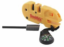 SMITH'S Compact POCKET PAL X2 Knife Sharpener Survival Fire Tool COMPASS! 50364