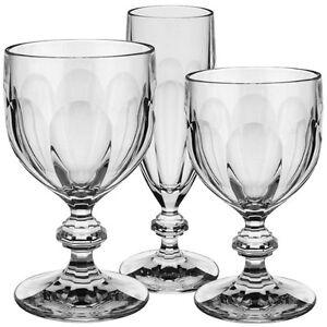 Bernadotte servizio bicchieri 18 pezzi cristallo vetro for Villeroy e boch bicchieri
