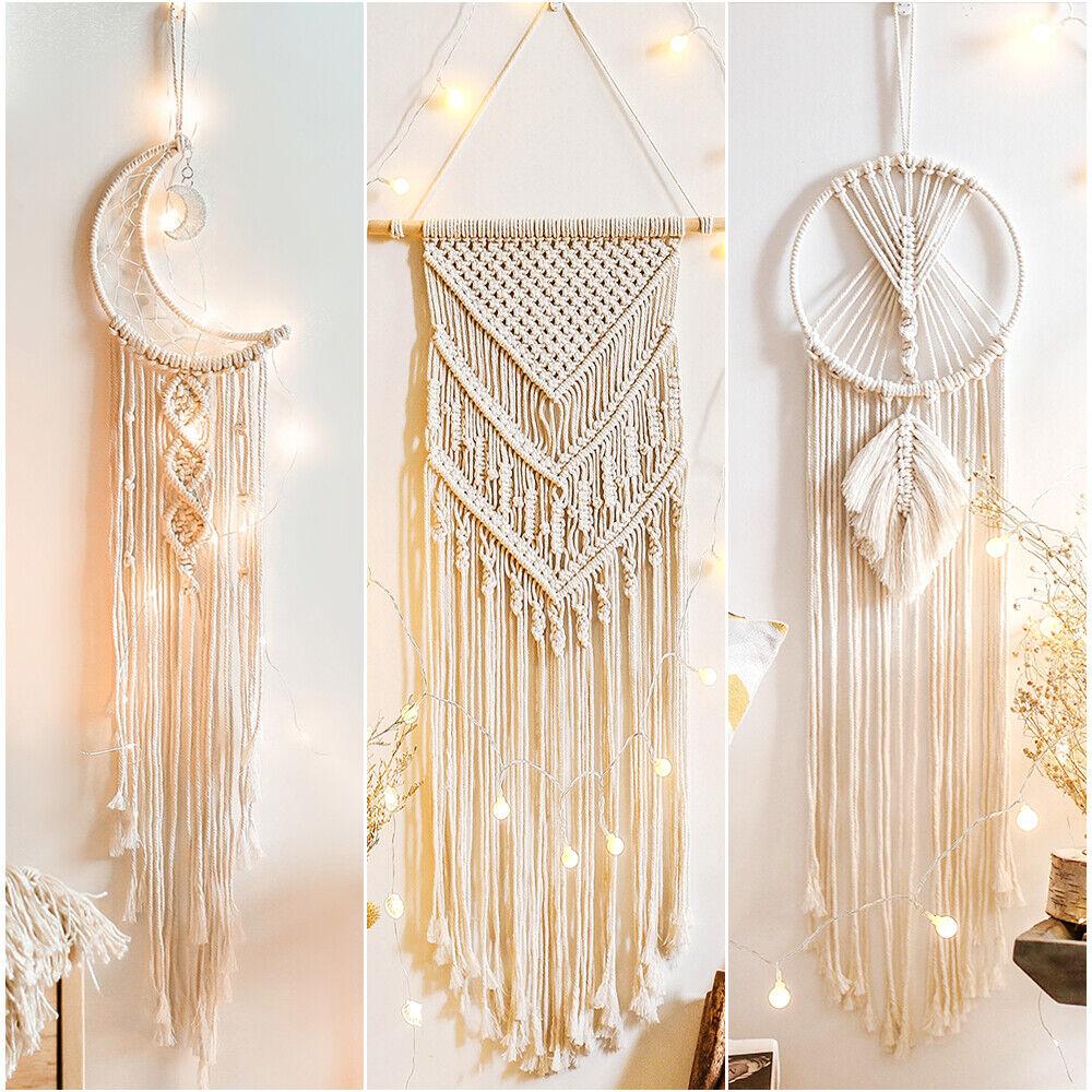 Handmade Macrame Wall Hanging 100 Cotton For Sale Online Ebay