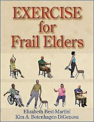 Exercise for Frail Elders by Best-Martini, Elizabeth