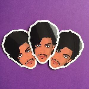 3x-Prince-Art-Controversy-Fan-Tribute-Commemorative-Gloss-Vinyl-Stickers-5x4cm