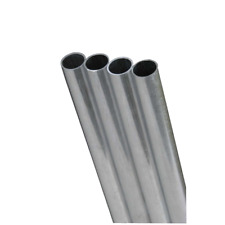 Kamps Round Tube 14 D X 12 L Stainless Steel 304 Carded