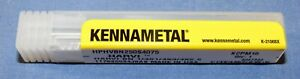 NEW-KENNAMETAL-4067344-SOLID-CARBIDE-BALL-END-MILL-1-4-DIA-X-3-4-LOC
