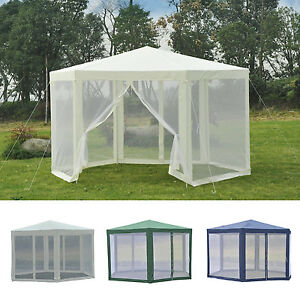 Image Is Loading Outsunny Patio Gazebo Netting Canopy Garden Party Tent
