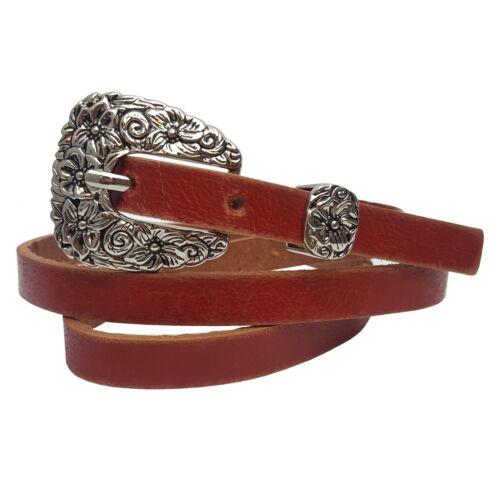 Western Skinny Leather belt