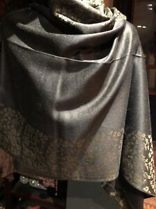Vintage-Style-Knit-Brocade-Pashmina-Paisley-Scarf-Wrap-Shawl