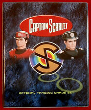 Official Trading Card Storage Binder - CAPTAIN SCARLET by Unstoppable Cards 2015
