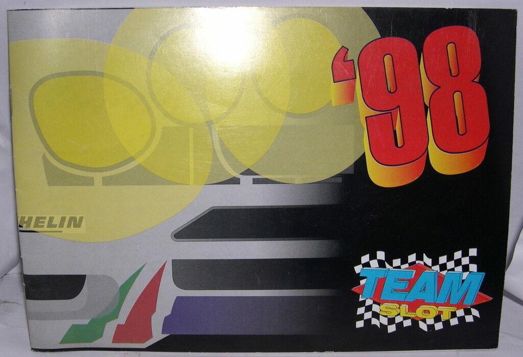 TEAM SLOT CATALOG YEAR 1998 NEW 24 PAGINAS