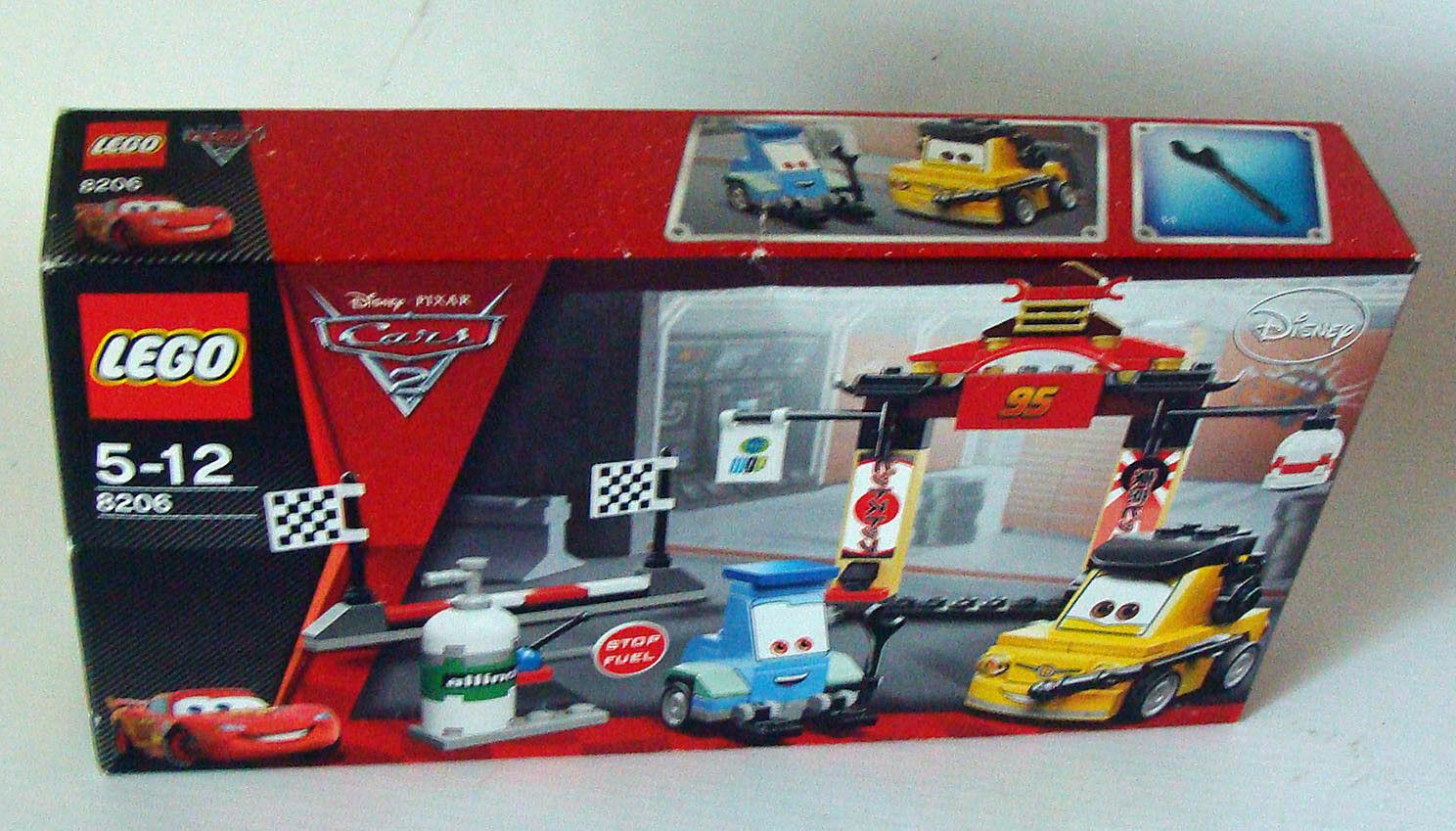 Lego® Cars 2 8206 - Boxenstopp in Tokio 147 Teile 5-12 Jahren - Neu