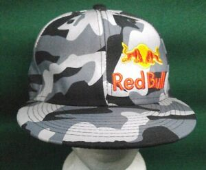 e577a745c Details about New Era Mens Red Bull Racing Gray Camo Hat Ball Cap Sz: 7, 59  Fifty, Fitted