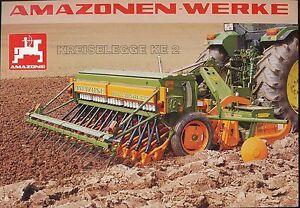 KüHn Amazone Kreiselegge Ke 2 Landmaschine Prospekt 7/97 Broschüre 1997 Deutschland Wohltuend FüR Das Sperma Business & Industrie