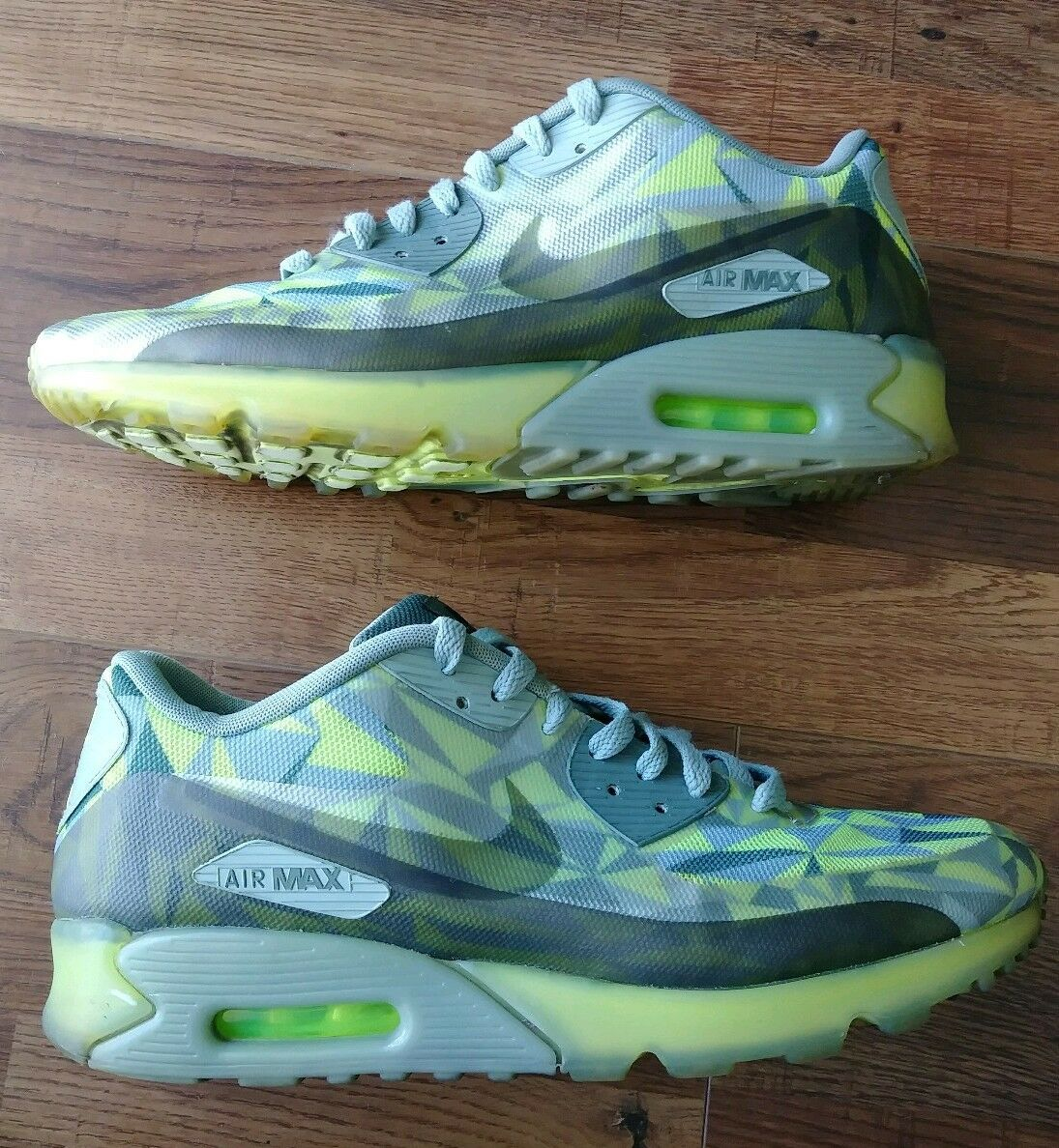 NIKE AIR MAX 90 ICE VOLT-MICA GREEN Size US 11