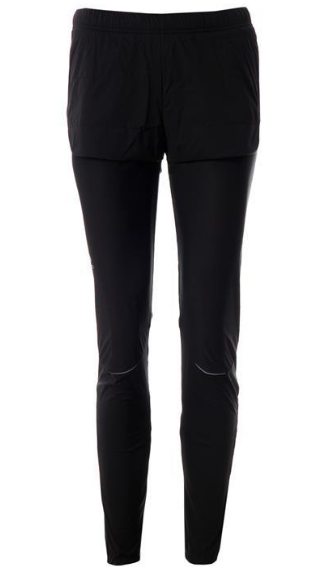 Odlo Tight Zeroweight Black Active Wear Woven Trousers Pants Uk Size 16 (XL)