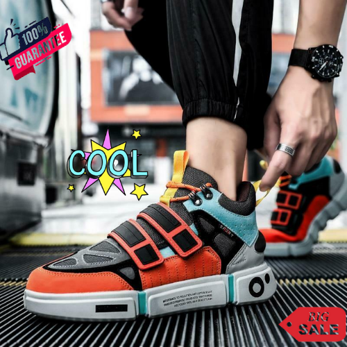 New Men's Designer Sneakers High Quality Athletic Running Sport Breathable Shoes
